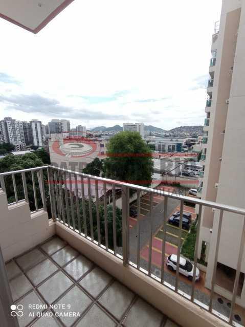 20 - Apartamento coladinho Norte Shopping, 2quartos, varanda, vaga, infraestrutura e financia - PAAP24306 - 5