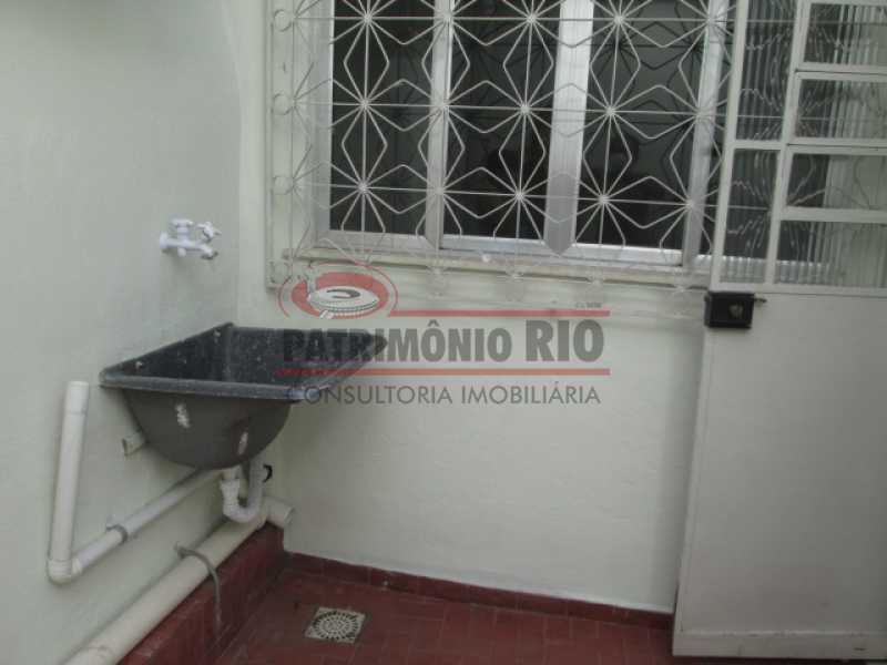IMG_2962 - Espetacular Casa Linear, 2quartos, vaga de garagem, desocupada - Vila Kosmos - PACA20603 - 25