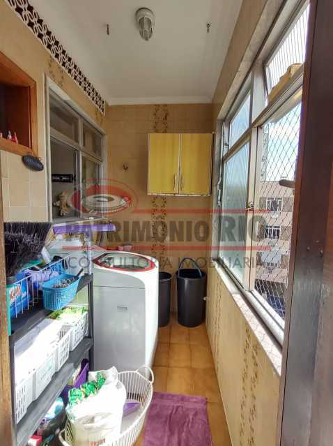 24 - Maravilhoso Apartamento, Condomínio Nova Valqueire, 1vaga escritura e documento perfeito pode Financiar - PAAP24350 - 27