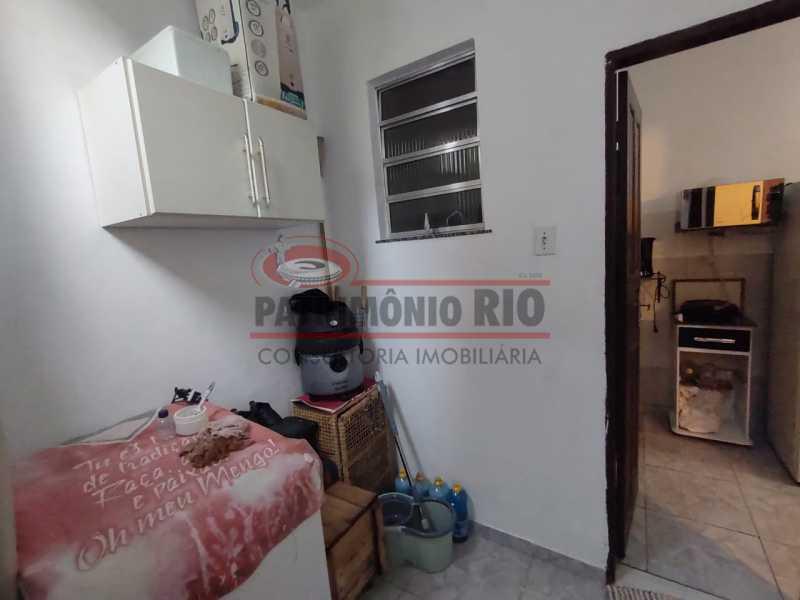 21 - Casa Linear de Fundos reformada com quintal - PACV10059 - 22