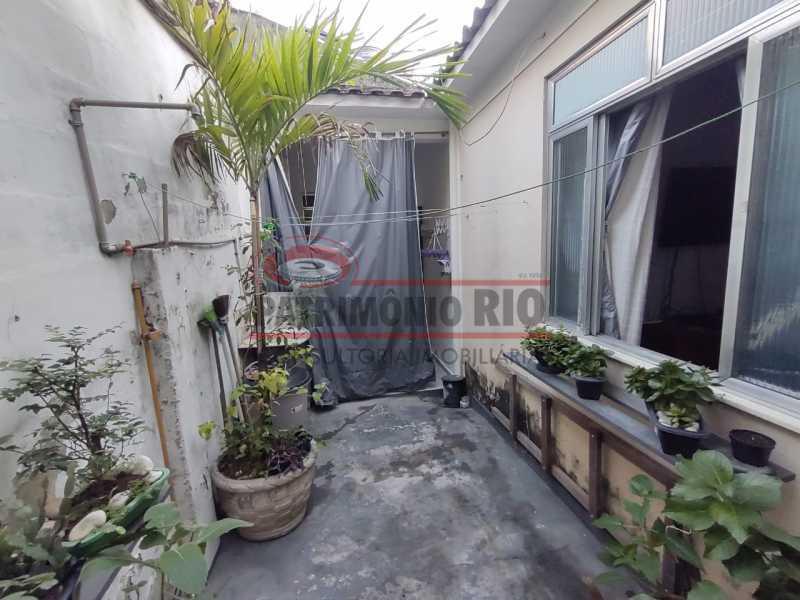 24 - Casa Linear de Fundos reformada com quintal - PACV10059 - 25