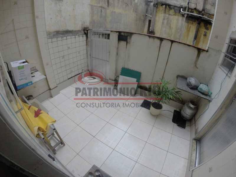 1.2 - Varanda frontal. - Casa Duplex de Vila juntinho do Metro - PACV20114 - 3