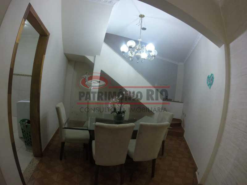 3 - Sala de jantar 1. - Casa Duplex de Vila juntinho do Metro - PACV20114 - 6