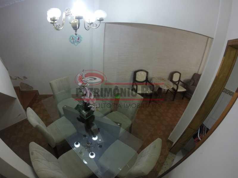 3 - Sala de jantar 2. - Casa Duplex de Vila juntinho do Metro - PACV20114 - 7