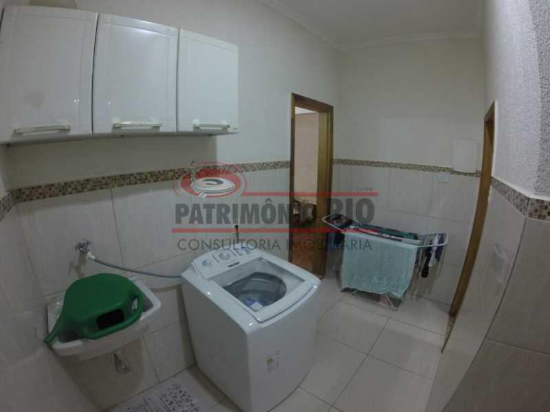 5 - Area de serviço 1. - Casa Duplex de Vila juntinho do Metro - PACV20114 - 11
