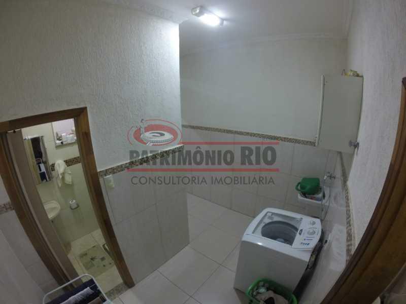 5 - Area de serviço 2. - Casa Duplex de Vila juntinho do Metro - PACV20114 - 12