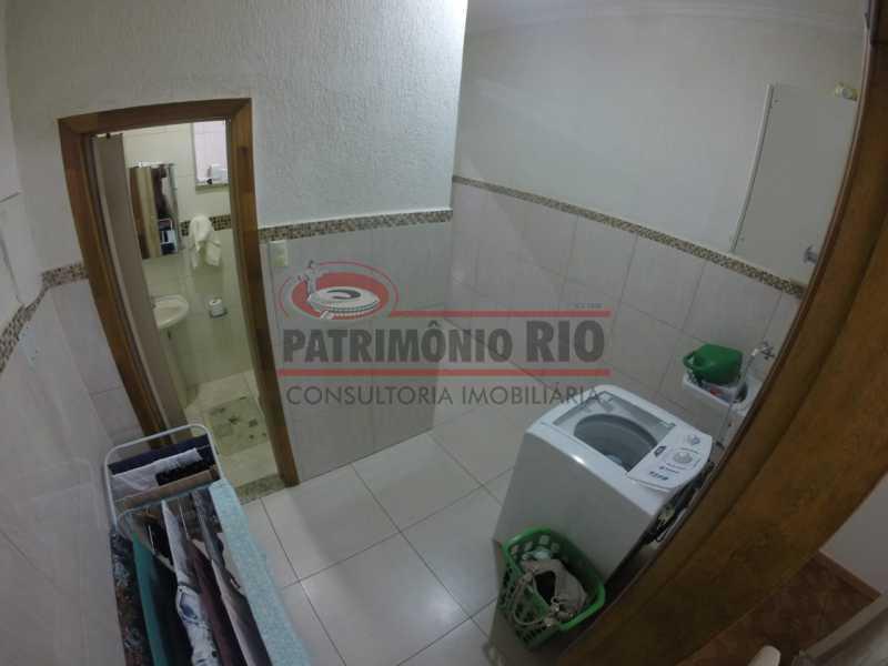 5 - Area de serviço 3. - Casa Duplex de Vila juntinho do Metro - PACV20114 - 13
