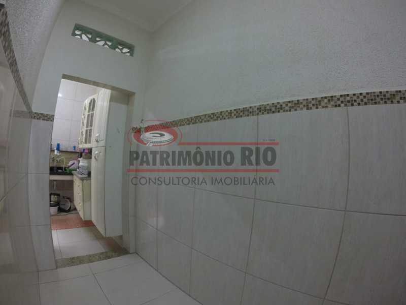 5 - Area de serviço. - Casa Duplex de Vila juntinho do Metro - PACV20114 - 14