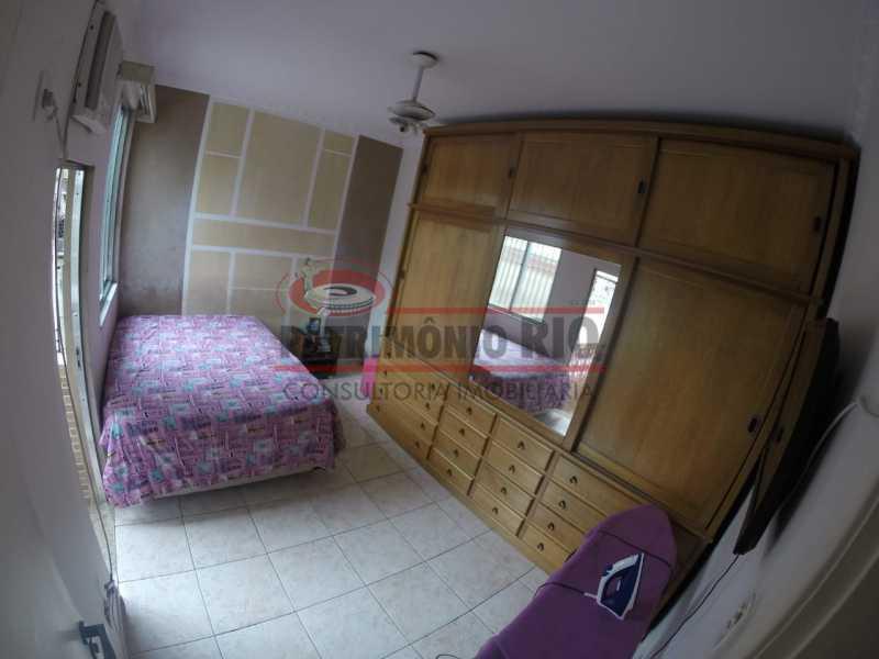 8 - Quarto do casal 1. - Casa Duplex de Vila juntinho do Metro - PACV20114 - 19