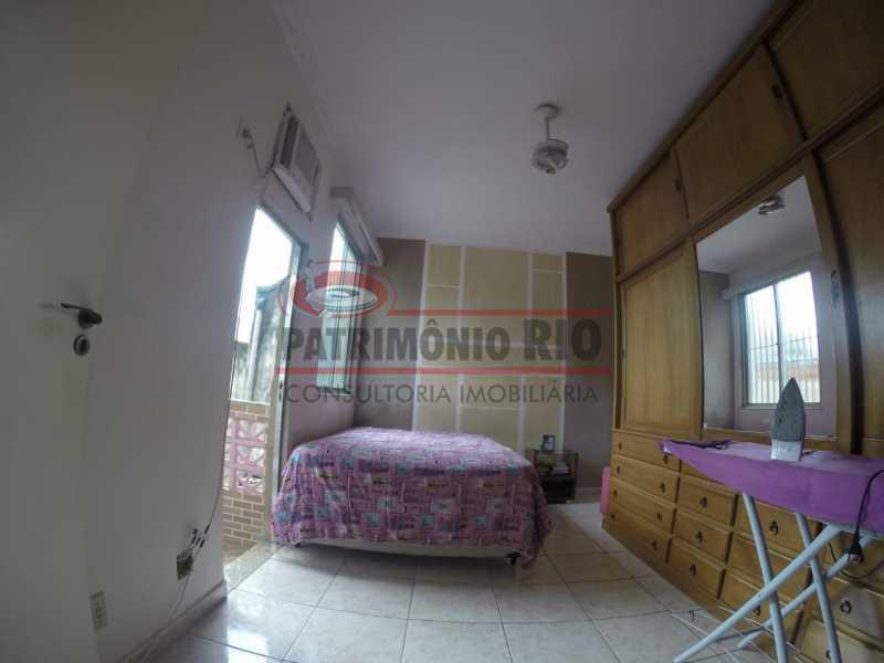 8 - Quarto do casal 3. - Casa Duplex de Vila juntinho do Metro - PACV20114 - 20
