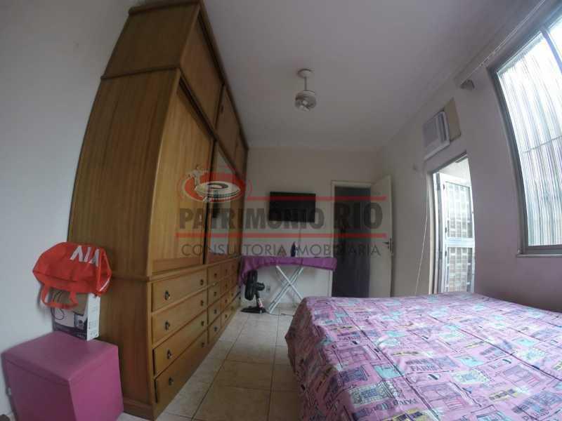 8 - Quarto do casal 4. - Casa Duplex de Vila juntinho do Metro - PACV20114 - 21