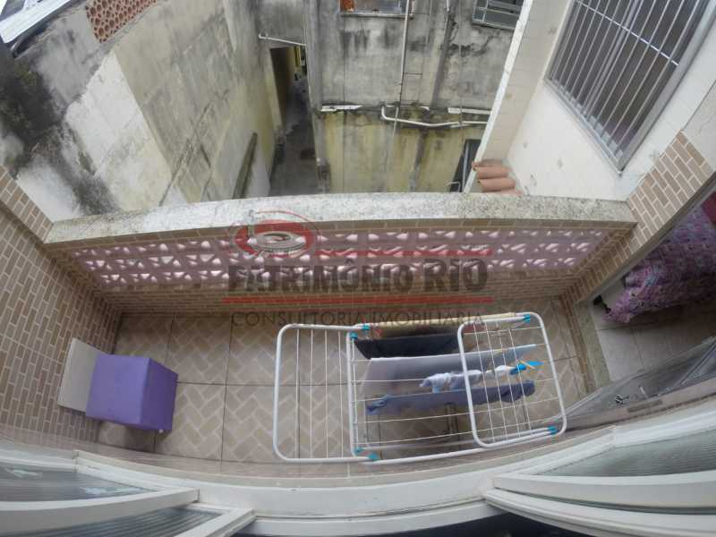 9 - varanda do quarto do casal - Casa Duplex de Vila juntinho do Metro - PACV20114 - 25