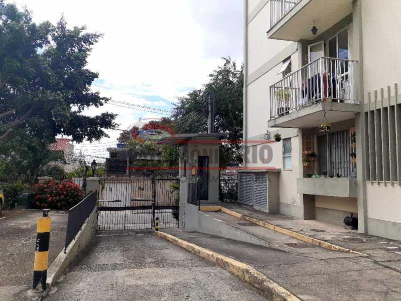 19. - Bom Apartamento Térreo no Cachambi com 2quartos, 1vaga, próximo do Prezunic - PAAP24393 - 24