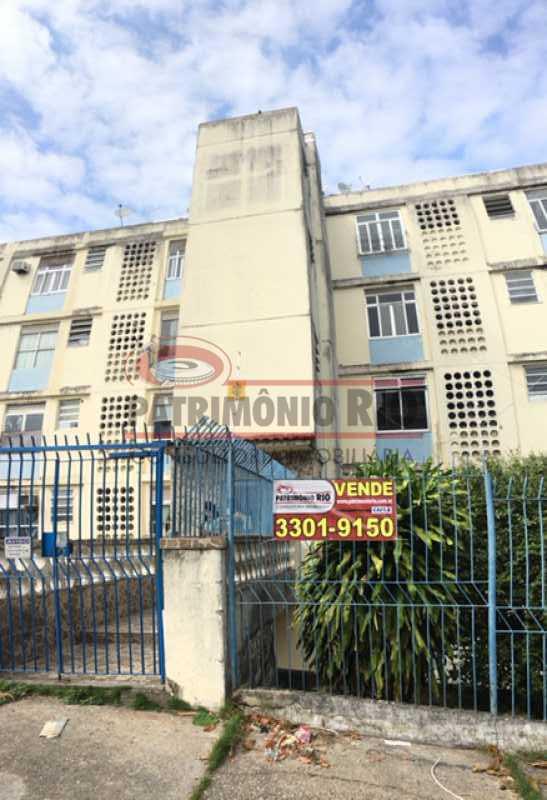 IMG_7355 - Ótimo Apartamento Térreo 1quarto - PAAP10500 - 23