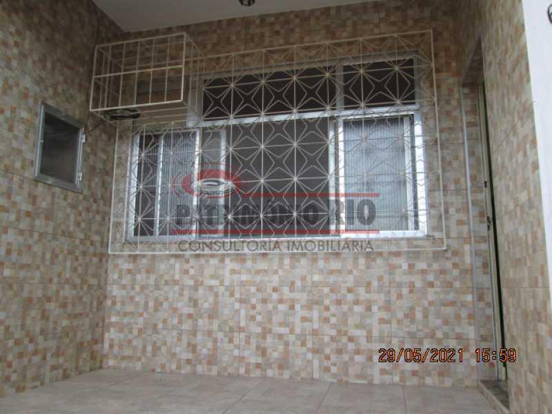 IMG_2572 - Espetacular Casa Linear(Terreno 300m²) 2 quartos, 5vagas garagem - Vigário Geral (Próximo Praça Dois) - PACA20613 - 1