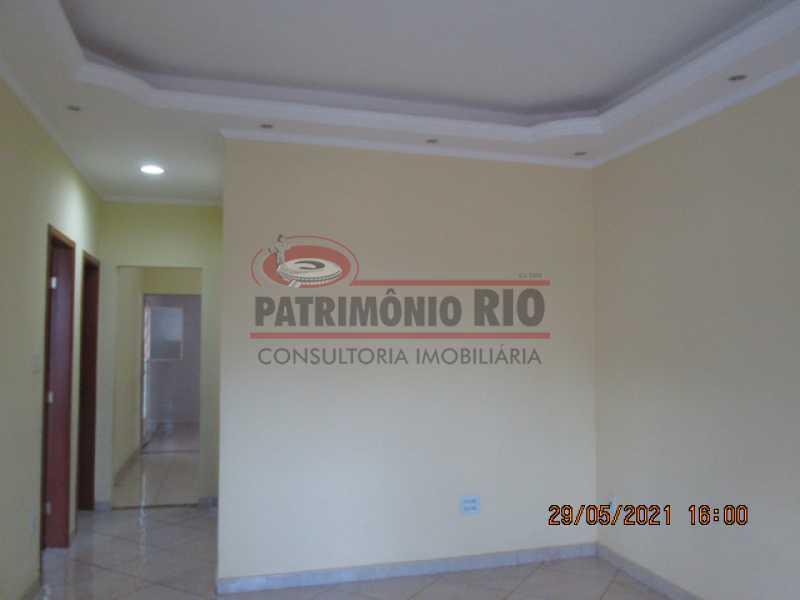IMG_2579 - Espetacular Casa Linear(Terreno 300m²) 2 quartos, 5vagas garagem - Vigário Geral (Próximo Praça Dois) - PACA20613 - 9