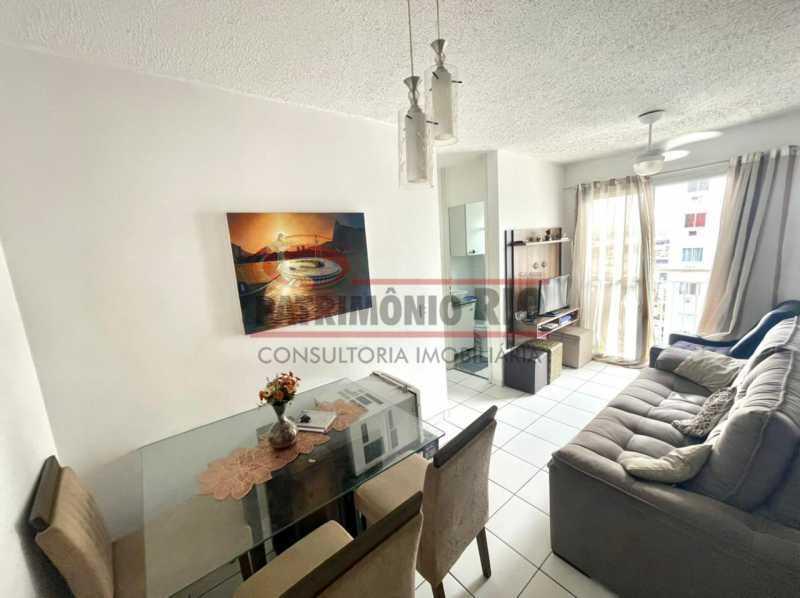 6e7f4a76-fe77-4db5-8db4-f99628 - Condomínio Morada Carioca. Excelente apartamento 2quartos com Vaga. - PAAP24436 - 1