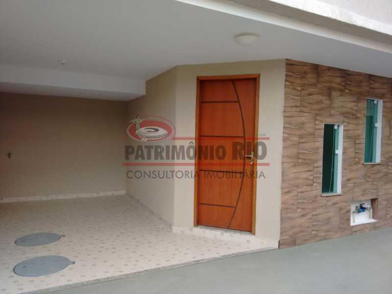 1. - Excelente Casa em Olaria em condomínio Fechado, 1º Locação com 2salas, 2qtos e Vaga. - PACN20143 - 1