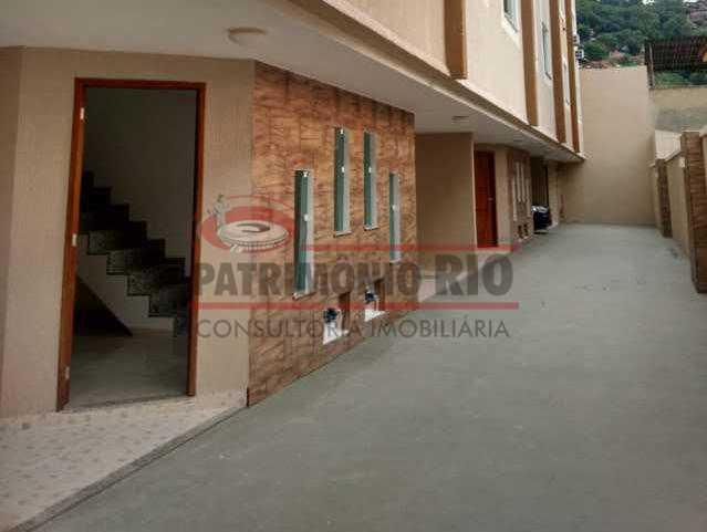2. - Excelente Casa em Olaria em condomínio Fechado, 1º Locação com 2salas, 2qtos e Vaga. - PACN20143 - 3
