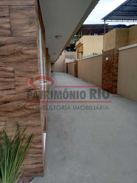 3. - Excelente Casa em Olaria em condomínio Fechado, 1º Locação com 2salas, 2qtos e Vaga. - PACN20143 - 4