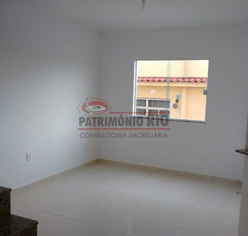 5. - Excelente Casa em Olaria em condomínio Fechado, 1º Locação com 2salas, 2qtos e Vaga. - PACN20143 - 6