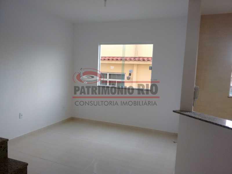 7. - Excelente Casa em Olaria em condomínio Fechado, 1º Locação com 2salas, 2qtos e Vaga. - PACN20143 - 8