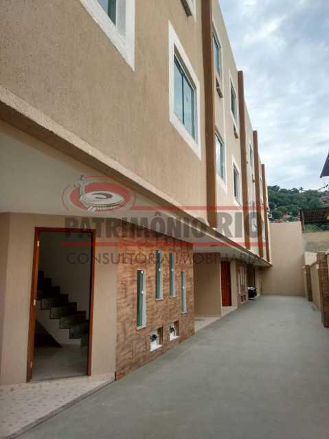 16. - Excelente Casa em Olaria em condomínio Fechado, 1º Locação com 2salas, 2qtos e Vaga. - PACN20143 - 17