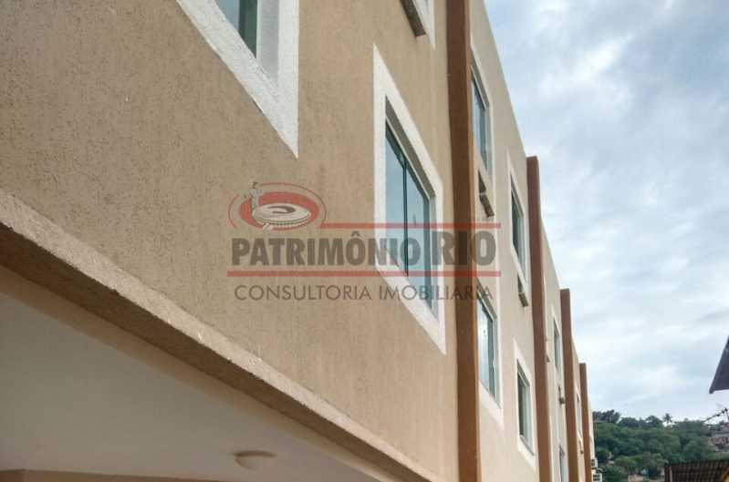 17. - Excelente Casa em Olaria em condomínio Fechado, 1º Locação com 2salas, 2qtos e Vaga. - PACN20143 - 18