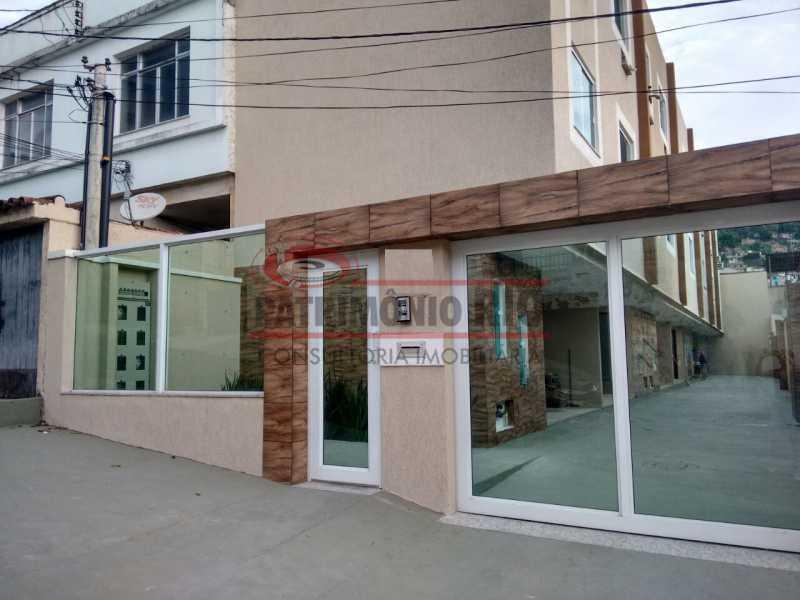 20. - Excelente Casa em Olaria em condomínio Fechado, 1º Locação com 2salas, 2qtos e Vaga. - PACN20143 - 21