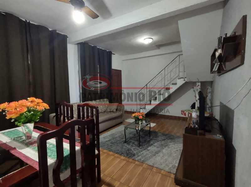 ag5 - Ótima casa Duplex 2 quartos Vista Alegre. - PACV20123 - 3