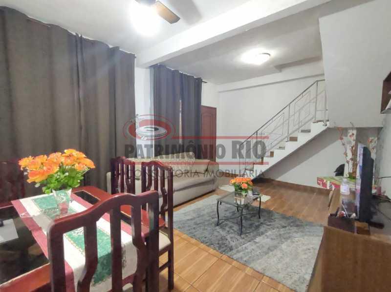 ag6 - Ótima casa Duplex 2 quartos Vista Alegre. - PACV20123 - 1