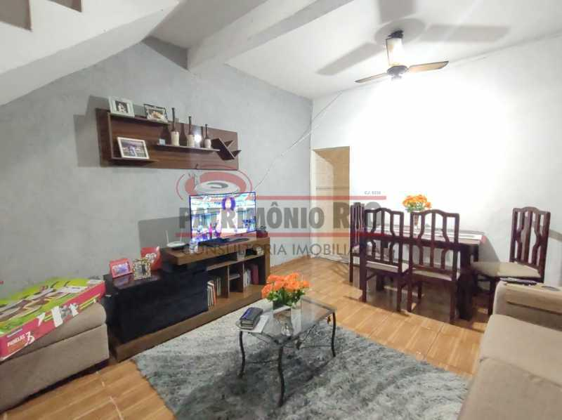 ag8 - Ótima casa Duplex 2 quartos Vista Alegre. - PACV20123 - 4