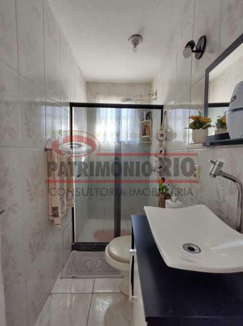 ag15 - Ótima casa Duplex 2 quartos Vista Alegre. - PACV20123 - 19