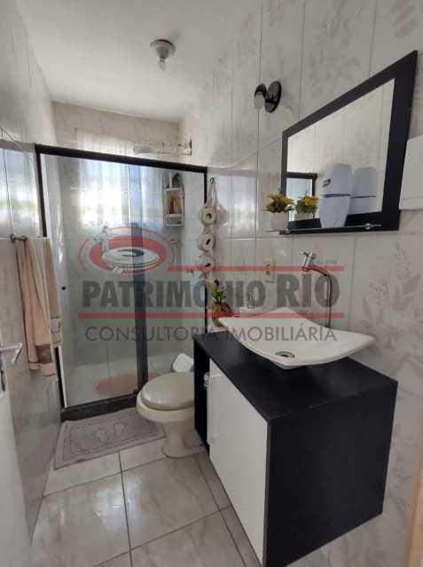 ag18 - Ótima casa Duplex 2 quartos Vista Alegre. - PACV20123 - 18