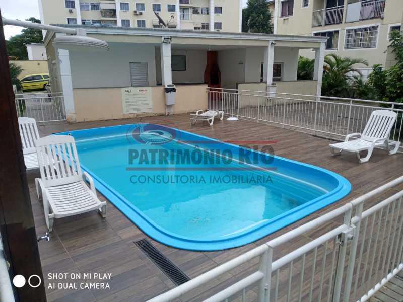 1. - Excelente Apartamento no Engenho da Rainha com varanda, 2 qts, 1 vaga e infra, aceitando financiamento e FGTS - PAAP24516 - 1