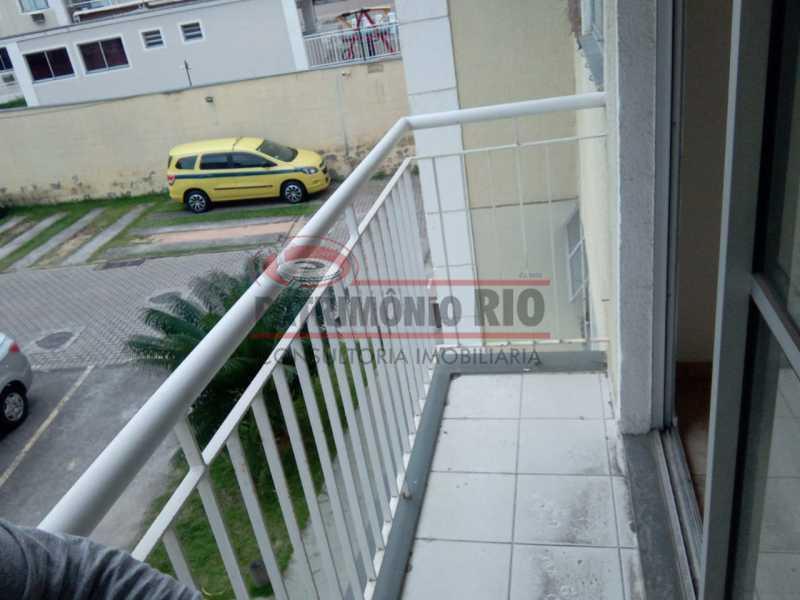 21. - Excelente Apartamento no Engenho da Rainha com varanda, 2 qts, 1 vaga e infra, aceitando financiamento e FGTS - PAAP24516 - 23