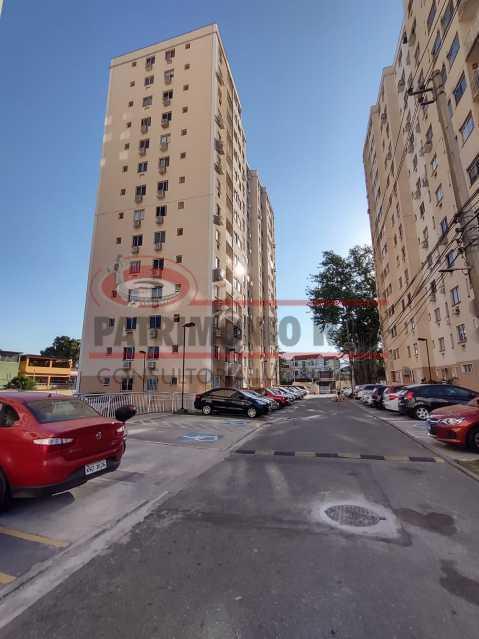 1 2 - Apartamento 2 quartos, vazio, próximo ao metrô - PAAP24530 - 1