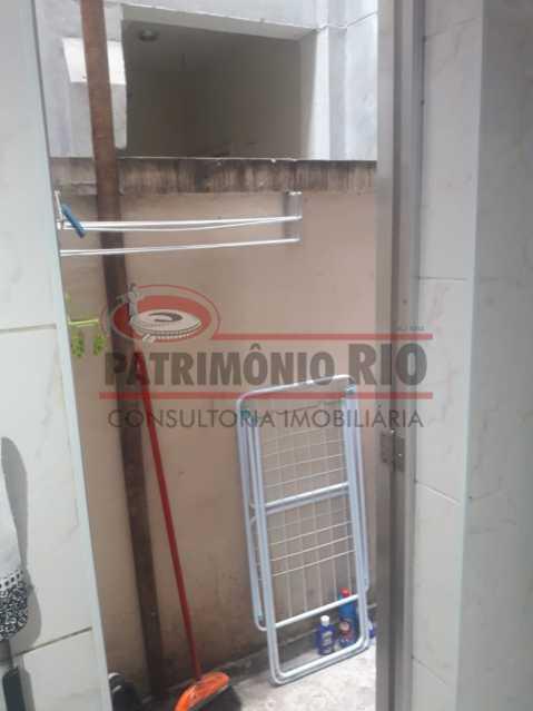 20. - Excelente apartamento térreo em Quintino com 2 quartos - PAAP24546 - 21