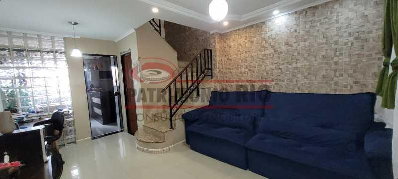 03 - Excelente casa duplex, terraço e vaga - PACN30079 - 1