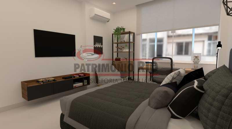 7c05b0108047a0df-quarto_02[1] - Apartamento semi-luxo, 2 quartos (1 suíte), vaga de garagem, Copacabana - PAAP24590 - 1