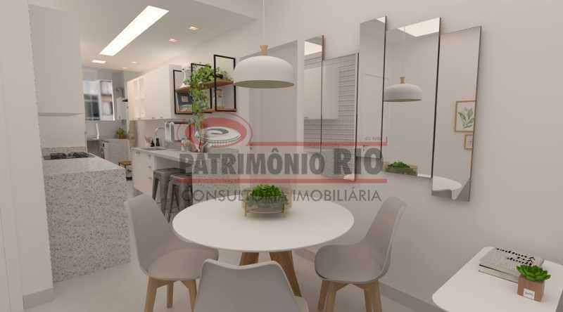 840ee9d43283aded-sala_e_cozinh - Apartamento semi-luxo, 2 quartos (1 suíte), vaga de garagem, Copacabana - PAAP24590 - 9
