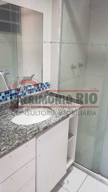 BANHAIRO SOCIAL - apartamento 3 quartos - PAAP31180 - 15
