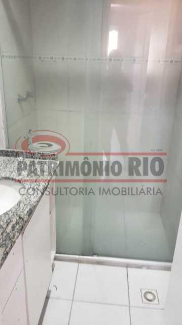 BANHEIRO SOCIAL - apartamento 3 quartos - PAAP31180 - 16
