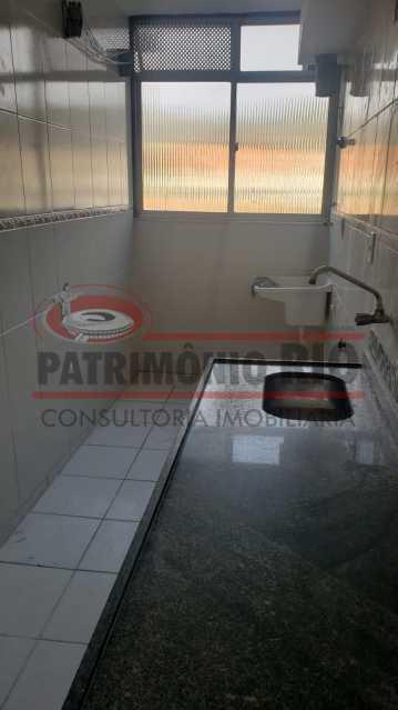 cozinha e area - apartamento 3 quartos - PAAP31180 - 13