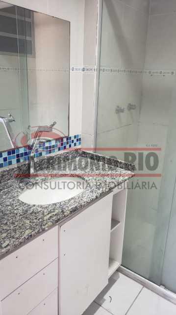 BANHAIRO SOCIAL - apartamento 3 quartos - PAAP31180 - 21