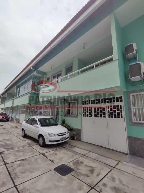 2 - Casa de Condomínio, Pça Seca, 2suites, terraço e Financiando. - PACN20147 - 1