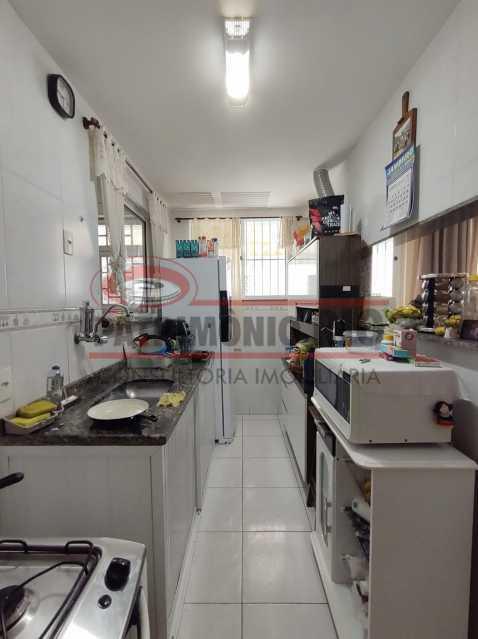 7 - Casa de Condomínio, Pça Seca, 2suites, terraço e Financiando. - PACN20147 - 17