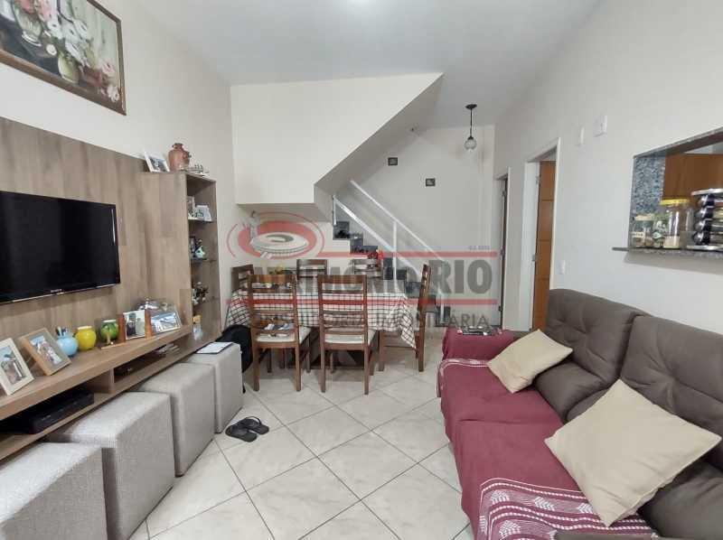 10 - Casa de Condomínio, Pça Seca, 2suites, terraço e Financiando. - PACN20147 - 4