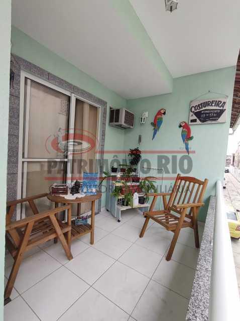 19 - Casa de Condomínio, Pça Seca, 2suites, terraço e Financiando. - PACN20147 - 15