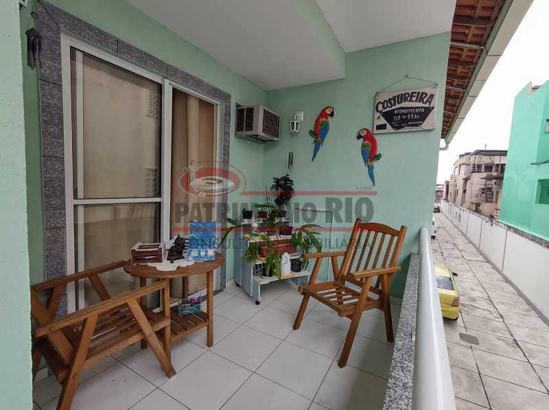 20 - Casa de Condomínio, Pça Seca, 2suites, terraço e Financiando. - PACN20147 - 25